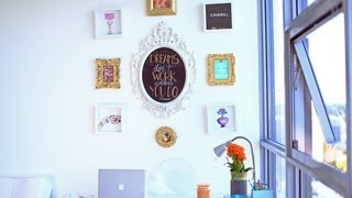 My Wall Of Frames {diy}