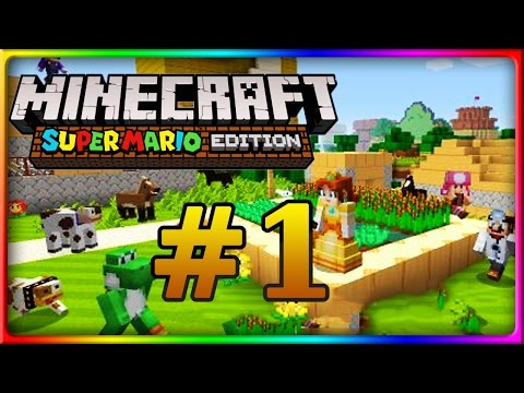 Let's Show MINECRAFT WII U EDITION | Mario Mashup Pack | Mar