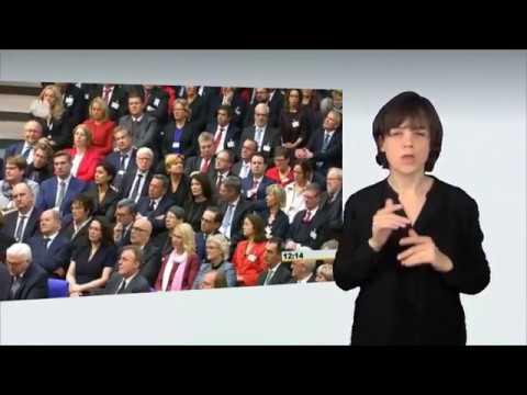 Gebärdensprachvideo: Neuer Bundespräsident gewählt