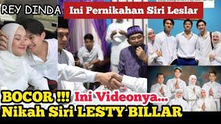 Bocor !! Rey Dinda - Video Di Nikah Siri Lesty Billar