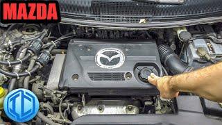 Mazda Premacy на обслуживании