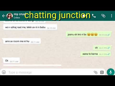 My Romantic Chat with my Bf || Love Chat and Story || Chatting Junction from YouTube · Duration:  5 minutes 14 seconds