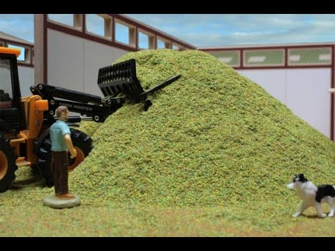 Agriculture Quality Silage Making Process
