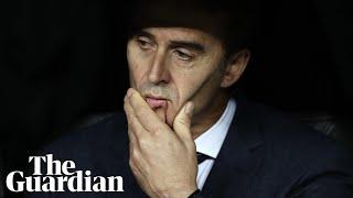 Real Madrid sack Julen Lopetegui following bad start to season