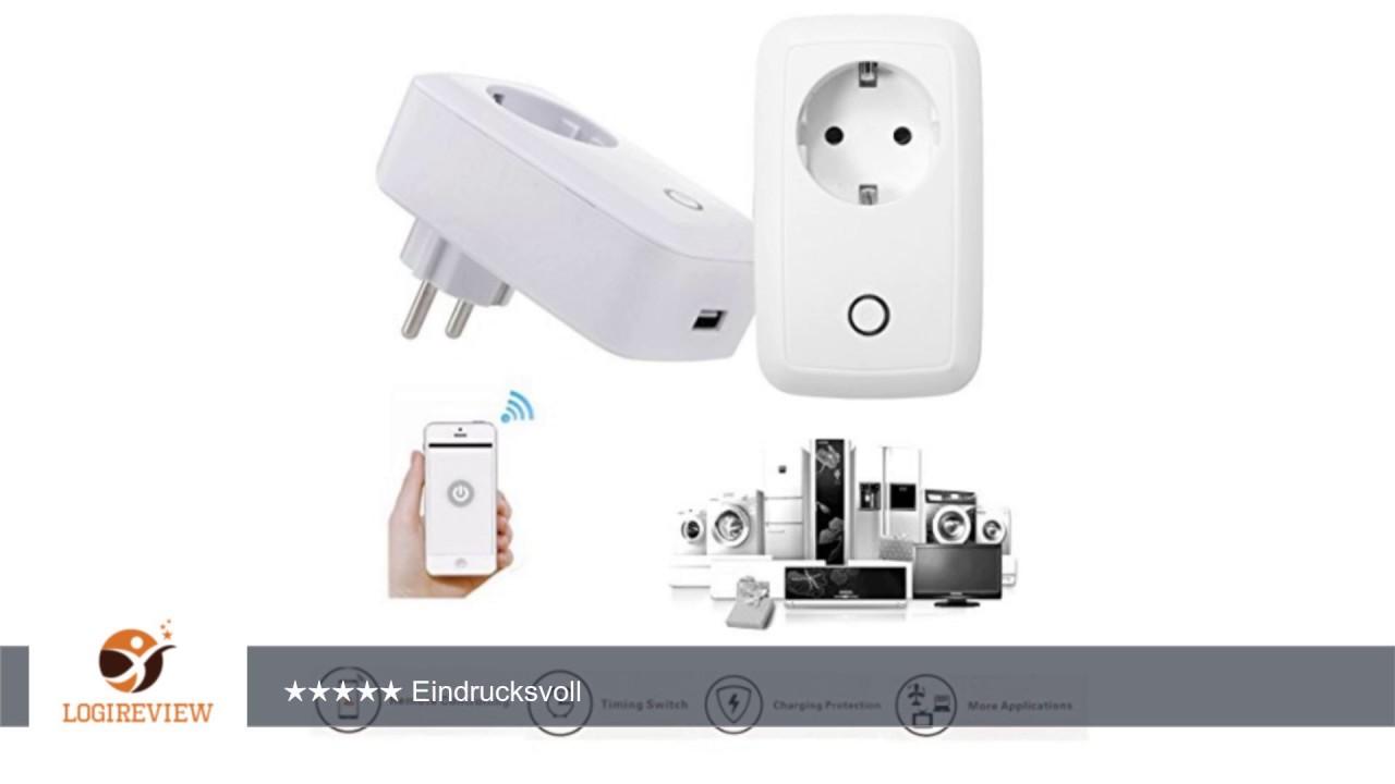 Wifi Smart Steckdose, GOCHANGE Intelligente Steckdose Switch mit App ...
