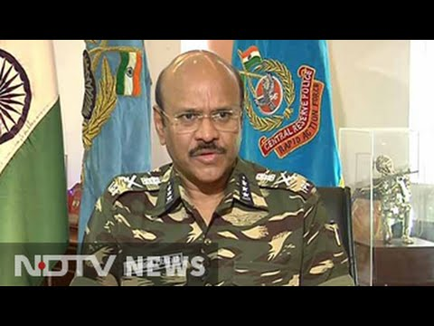 'Jawans sad but not out': NDTV exclusive with CRPF chief
