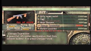 Resident Evil 4 (Xbox 360): Unlockable special weapons.