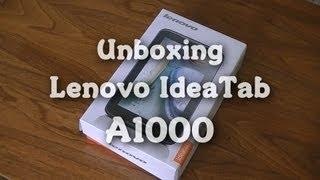 Unboxing: Lenovo IdeaTab A1000