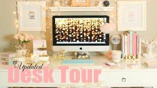 Desk Tour 2015 - What's In My Desk - MissLizHeart