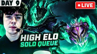 🔴 MASTERS SUPPORT SMURFING SOLO QUEUE 🤫 - League of Legends
