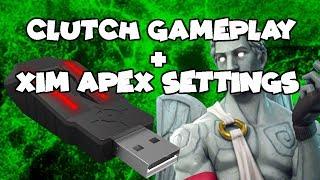 My Fortnite settings for Xim Apex – NetLab