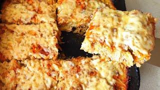 Запеканка из кабачков с фаршем в духовке | кабачки рецепты | кабачки в духовке