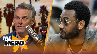 Colin explains why the Washington Wizards are better without John Wall | THE HERD