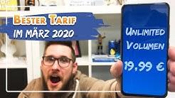 📲 Die 4 BESTEN Handyverträge im März 2020