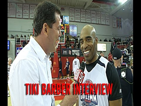 Tiki Barber Interview