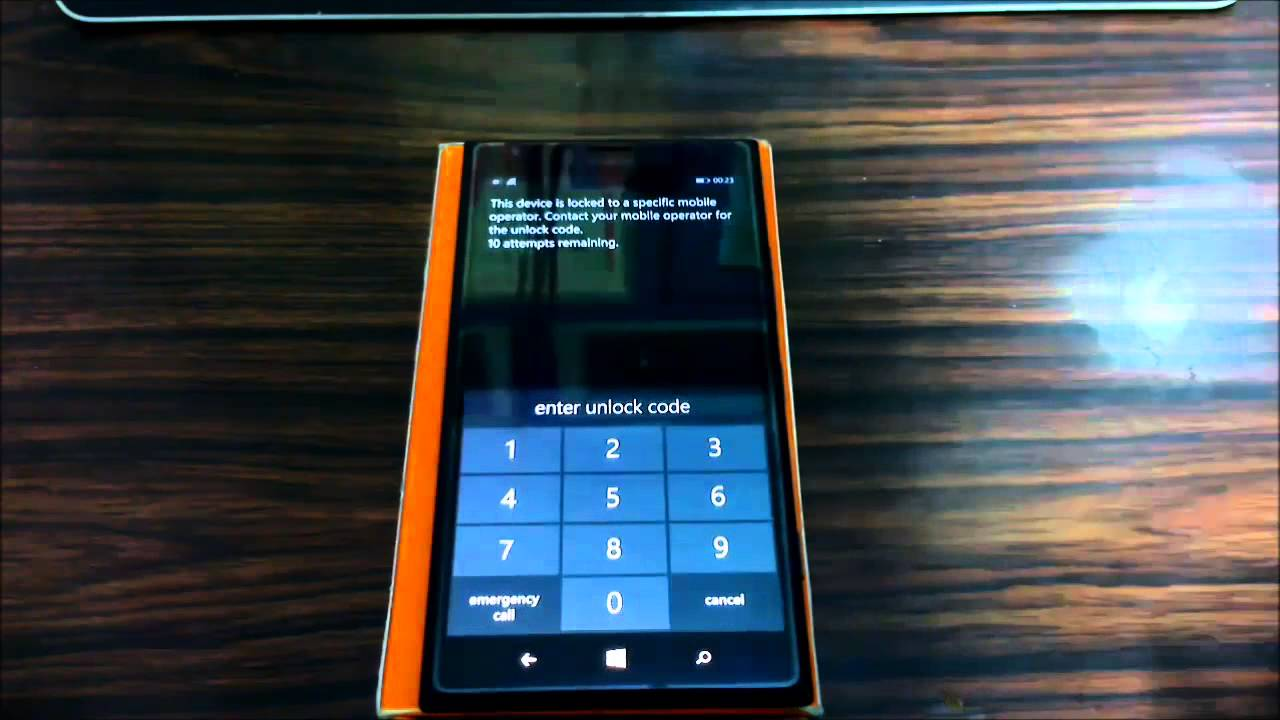 nokia lumia 925 unlock code generator free