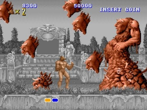 Altered Beast Arcade Gameplay Playthrough Longplay