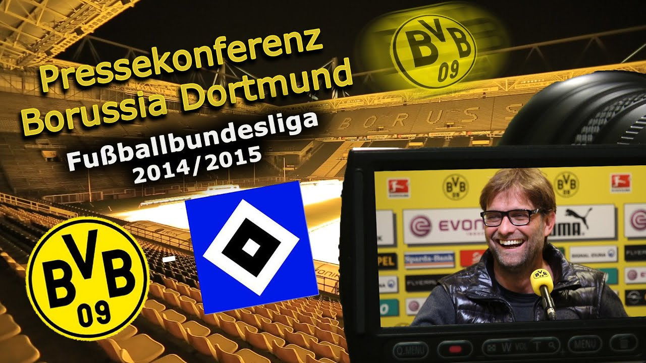 Borussia Dortmund - Hamburger SV: BVB-Pressekonferenz mit Jürgen Klopp