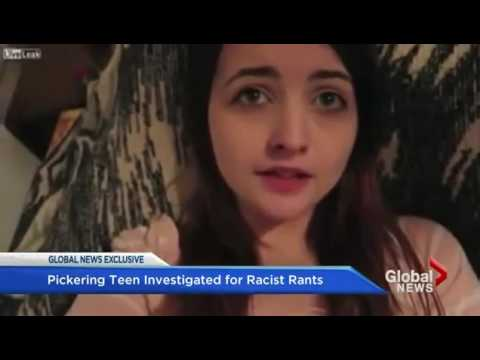 Ontario teen who called for white Canada has laptop seized by CBSA