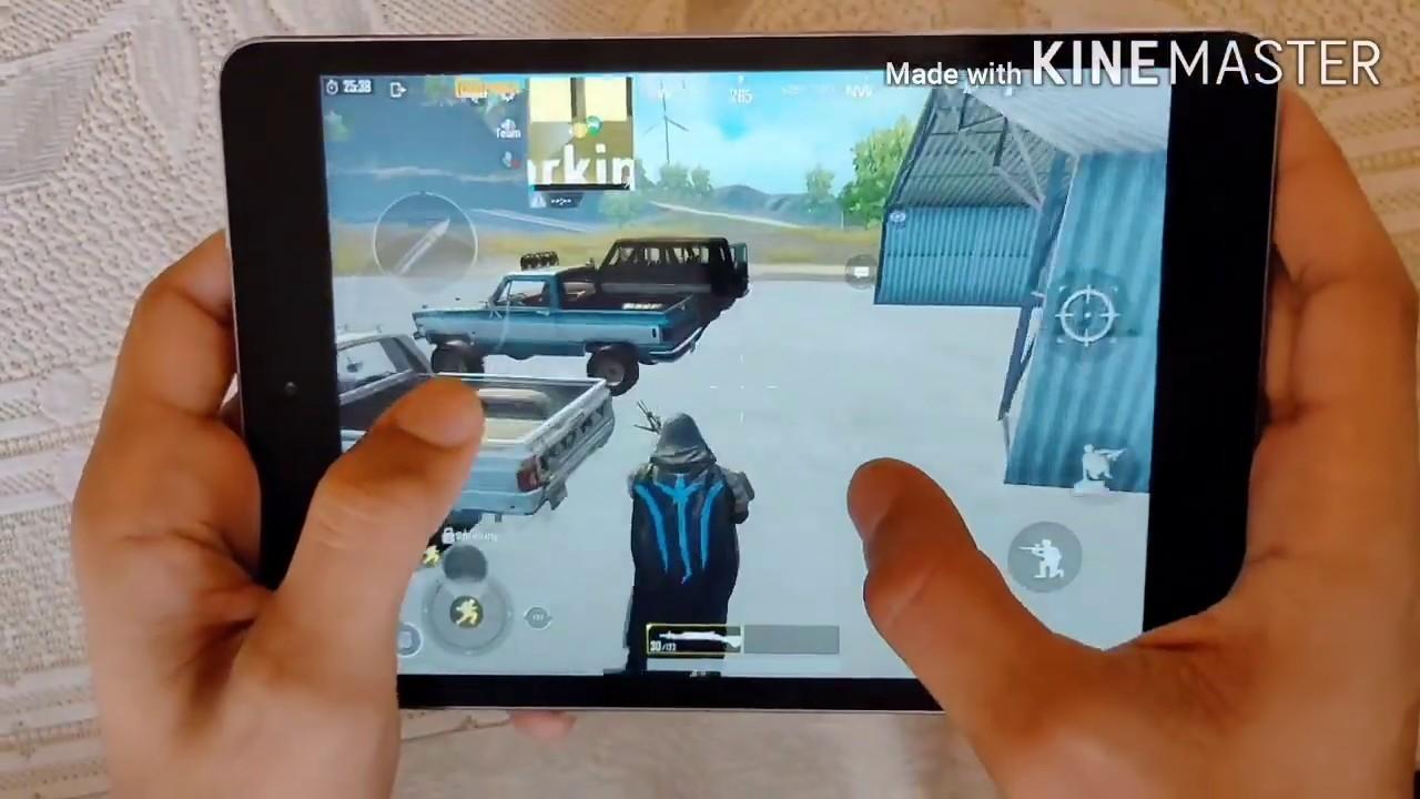 Performance of Ipad mini 2 in pubg mobile gameplay - YouTube