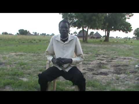 Dinka singer Mabior Garangdit