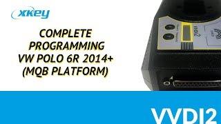 VVDI2 - Complete Programming VW POLO 6R 2014+ (MQB)