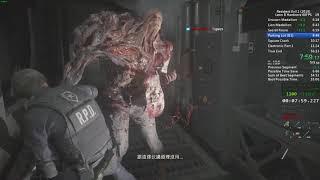 Qttsix|Resident Evil 2 Remake Leon B Speedrun in 55:41 IGT (Hardcore,60FPS) WR in 2019/02/28
