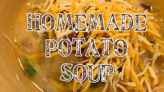 Homemade Loaded Potato Soup