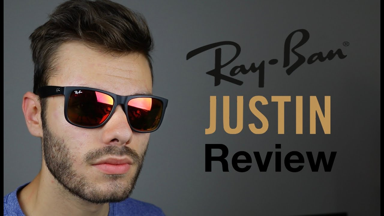 ray ban justin review youtube. Black Bedroom Furniture Sets. Home Design Ideas