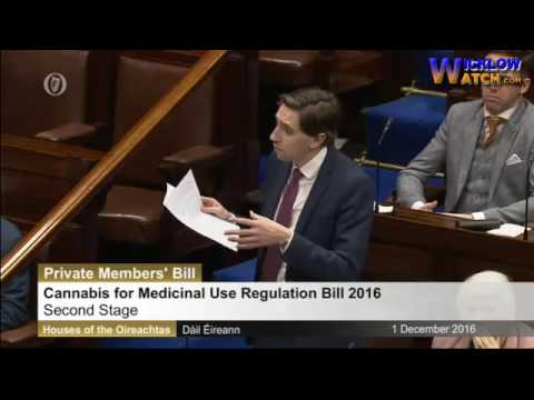 Simon Harris TD on how he supports Medicinal Cannabis Bill but Won't
