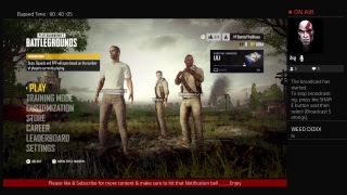 Pubg Ps4 BattleTheBlaze Gaming Live Broadcast mobile to console game play