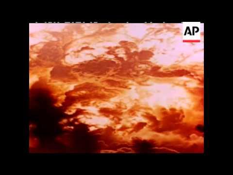 A BOMB EXPLOSION - DESERT - COLOUR - COLOUR VERY GOOD - NO SOUND