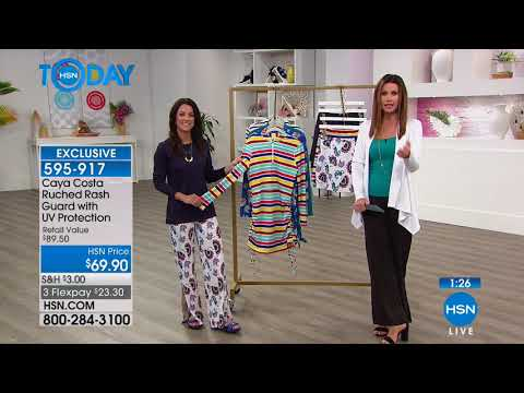 HSN | HSN Today: Caya Costa UPF Fashions Premiere 04.05.2018 - 07 AM