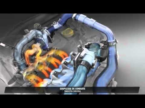 Renault Energy dCi 160 Twin Turbo Engine Detailed presentation
