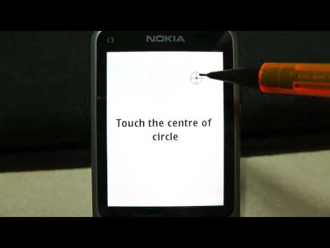 Nokia C3-01 Touch Screen Digitizer Calibration