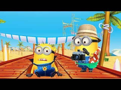 Despicable Me 2: Minion Rush Beach Minions