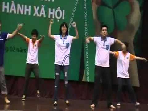 Dân vũ Dzaka   Trung tâm HT&PT Thanh niên Hà Nội   Hanoiadc org vn