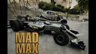 Carros no estilo MAD MAX