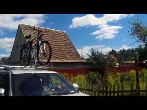 багажник на крышу автомобиля для велосипеда своими руками