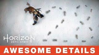 28 insane details in Horizon Zero Dawn