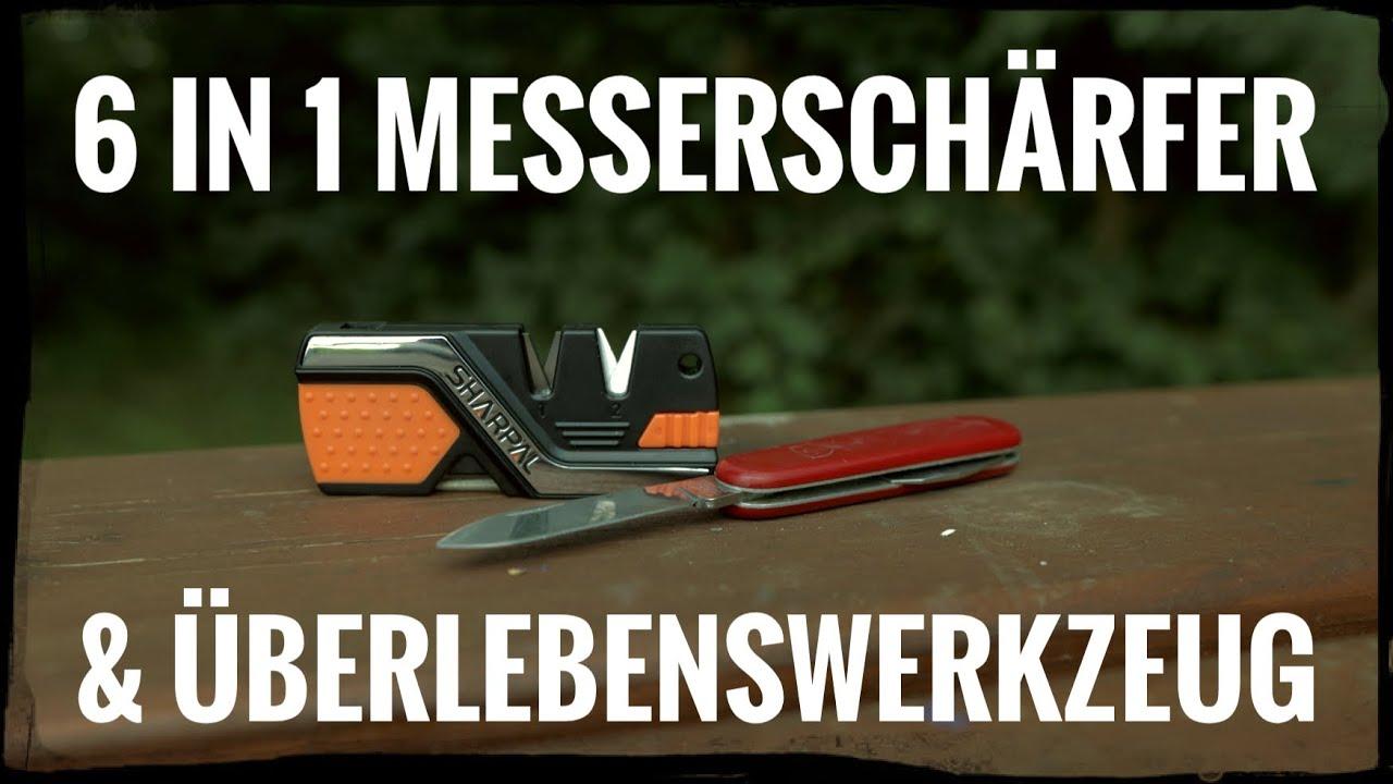 Sharpal 6 in 1 Messerschäfer & Survival Tool 🔪 Sicky zeigt: Messer schärfen Teil 4