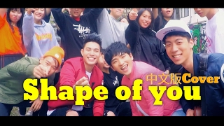 Ed Sheeran - Shape of You [中文版Cover] - ECHO X 嚴之  feat. JH胡斯漢/Eric Chen