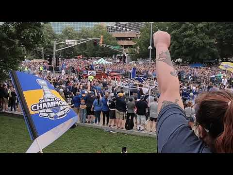 2019 STANLEY CUP PARADE-St. Louis, MO
