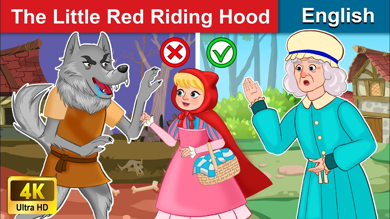 The Little Red Riding Hood 👩 Bedtime stories 🌛 Fairy Tales For Teenagers | WOA Fairy Tales