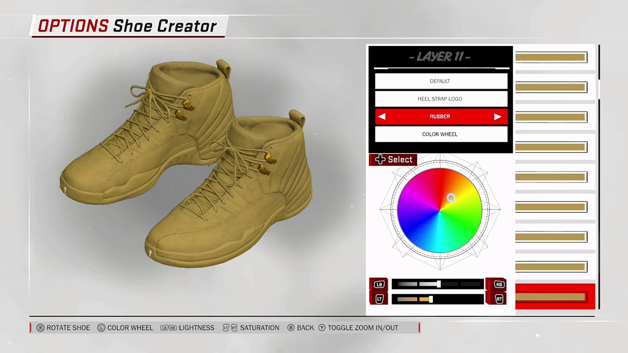 NBA 2K18 Shoe Creator - Air Jordan 12 x PSNY