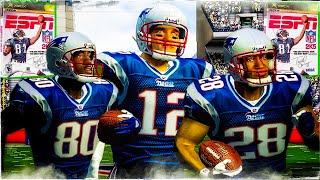 ESPN NFL 2K5: AFC Wildcard Battle In the Trenches | Chargers vs Patriots Football is Back!!!