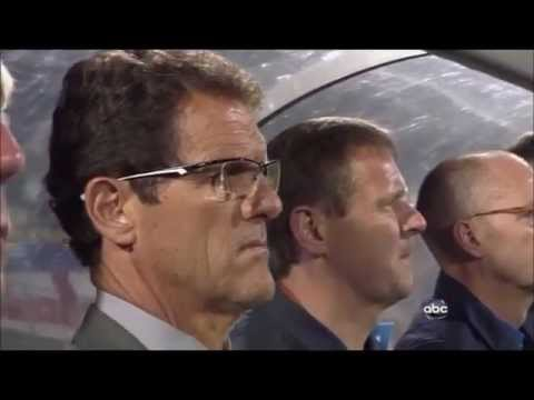 2010 World Cup - England National Anthem v USA