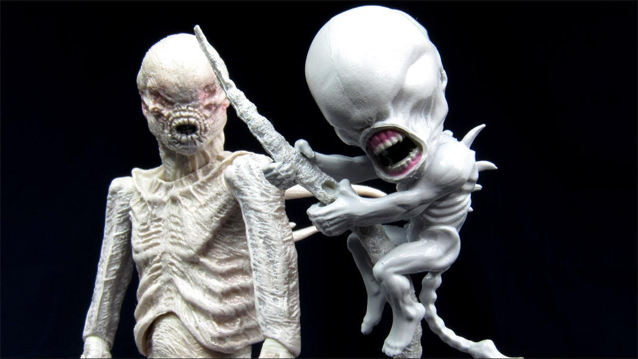 NECA Alien Covenant Neomorph Scalers Xeno Figure Review ...