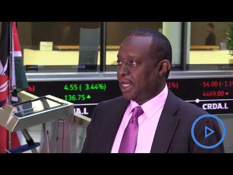 Treasury CS Henry Rotich opens market at the London Stock Exchange