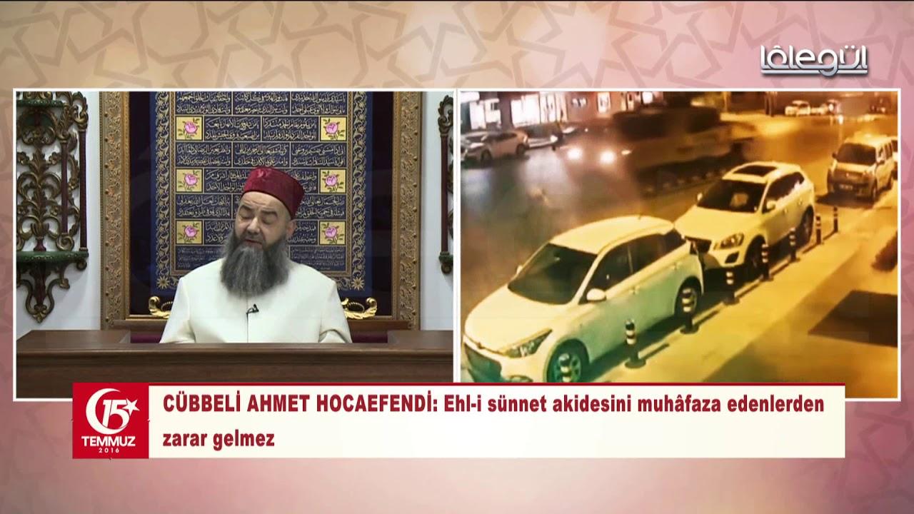15 Temmuz 2018 Özel Yayını - Cübbeli Ahmet Hocaefendi Lâlegül TV